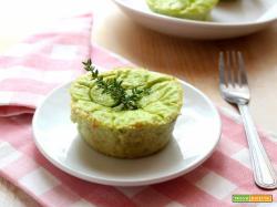 Sformatini con gambi di broccolo, un'idea antispreco