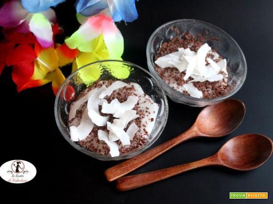 Crema al cocco senza lattosio e senza glutine