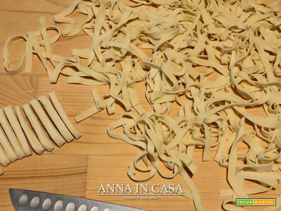 Pasta fresca con albumi - ricetta passo passo
