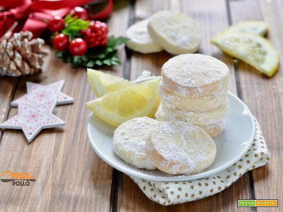 Lemon meltaways – Biscotti al limone