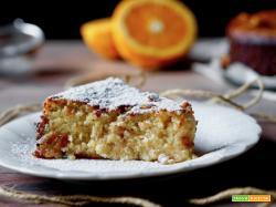 Torta Cremosa al Cioccolato Bianco e Arancia