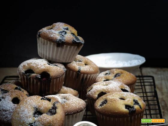 MUFFIN AI MIRTILLI SOFFICISSIMI