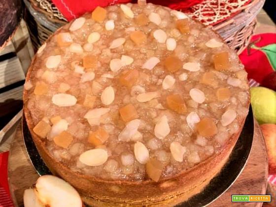 Torta frangipane con mele annurca di Sal De Riso da La Prova del Cuoco