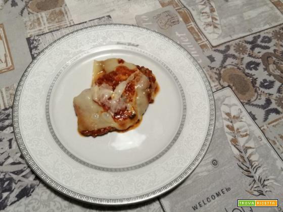 Scaloppine pomodoro e fontina