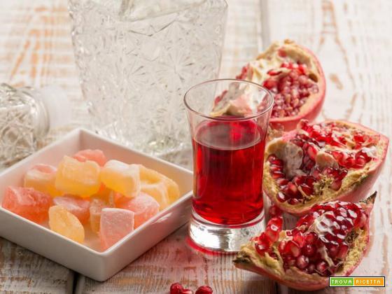 Grappa al melograno: un digestivo secco e fruttato