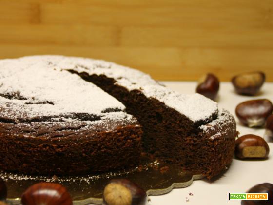 Torta castagne e cioccolato (senza glutine)