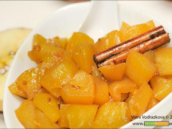 Chutney di mele (apple chutney)semplice e speziato