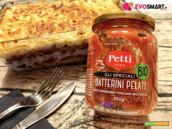 Pasta al forno tradizionale con datterino Petti
