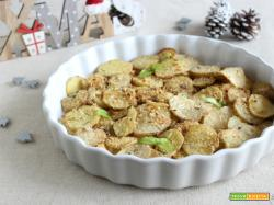 Chips di patate sabbiose – contorno di Natale