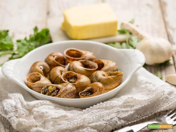 Specialità francese: le lumache alla bourguignonne