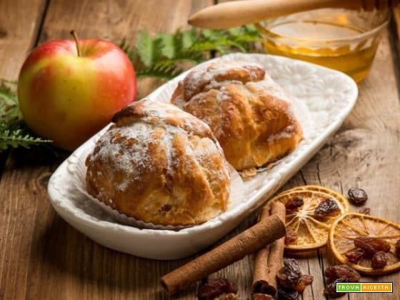 Fagottini ripieni di bontà e salute: le mele in sfoglia!