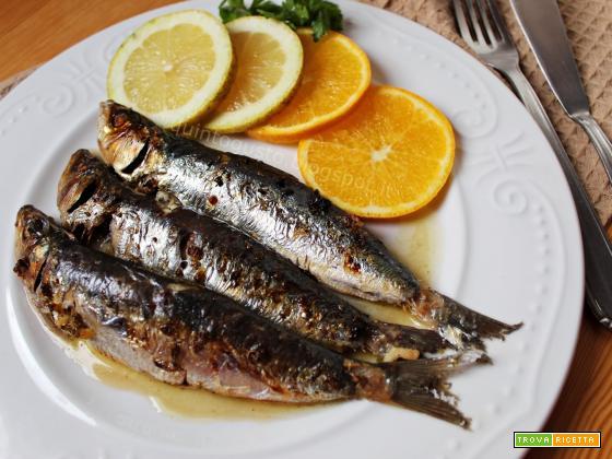 Sardine al forno