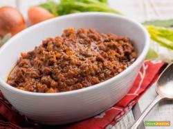 Il ragù di capriolo , una carne delicata e gustosa
