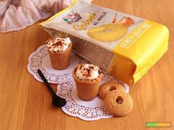Bicchierini di Biscotti Golosi al Miele senza glutine