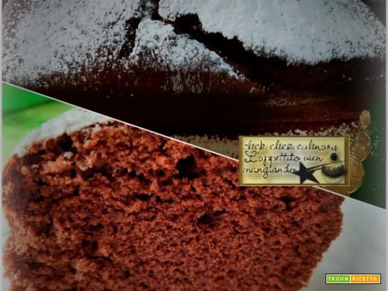 Soffice Plumcake Al Cioccolato Al Microonde.