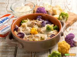 Canederli ai finferli con cavolfiore e formaggio: una variazione sul tema