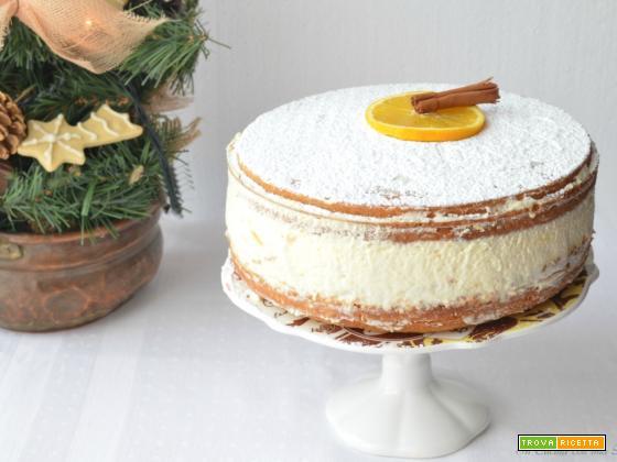 Sponge cake alla cannella e arancia