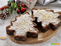 Alberi di Natale dolci alle mandorle