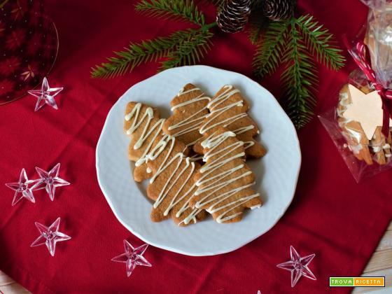 Biscotti alla cannella e cioccolato bianco