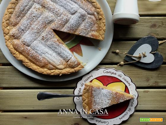 Crostata savoiadi e crema - ricetta passo passo