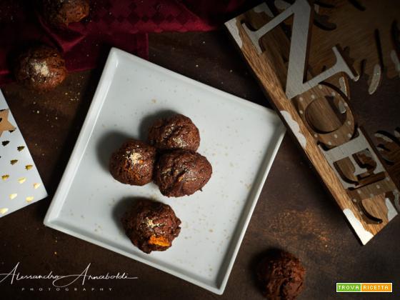 calendario dell'avvento biscotti di zucca e cacao alla cannella