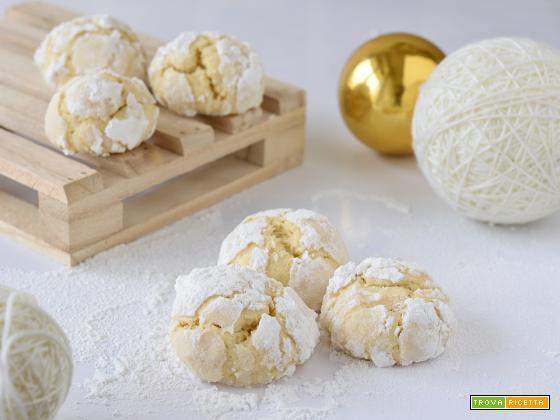 Crinkle Cookies al Limone
