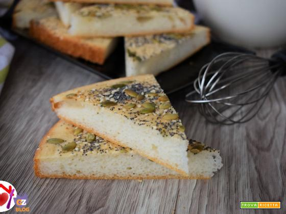 Focaccia vegana senza glutine