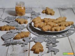 Biscotti di natale nocciole e cioccolato