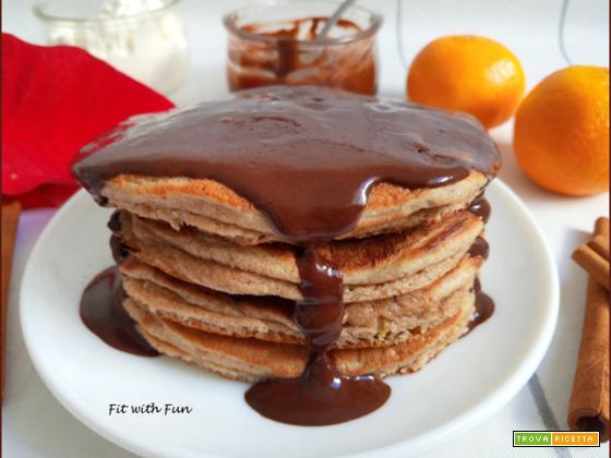Pancakes con Fiocchi di Latte Proteici e Low Carb