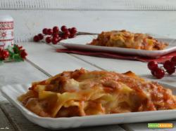 Lasagne al ragù di salsiccia ricetta facile e veloce