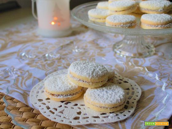 Biscotti morbidissimi con dulce de leche (Alfajores)
