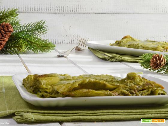 Lasagne con pesto e stracchino ricetta facile e cremosa