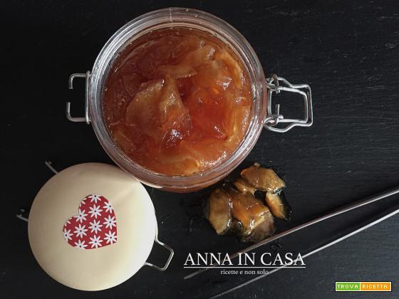 Mele caramellate con senape - ricetta passo passo