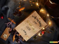 calendario dell'avvento scorzette d'arancia al cioccolato