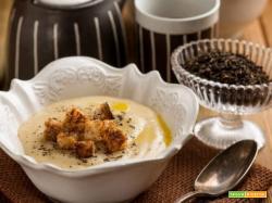Calda vellutata di patate al tè LapsangSouchong , da provare!