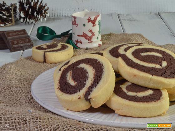 Biscotti bicolore ricetta facile