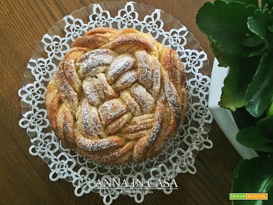 Intreccio di dolcezza Annaincasa - ricetta passo passo
