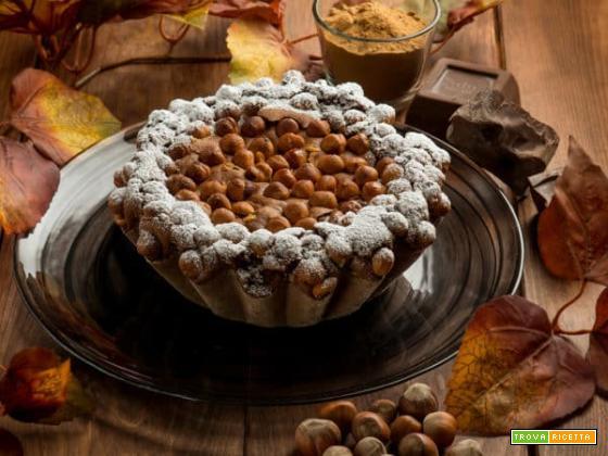 Torta al cioccolato e nocciole: un dessert semplice da preparare