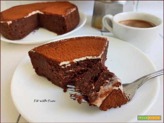 Torta Cheesecake Tiramisù al Cioccolato