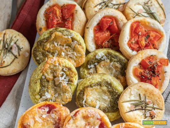 Pizzette di sfoglia (ricetta veloce)