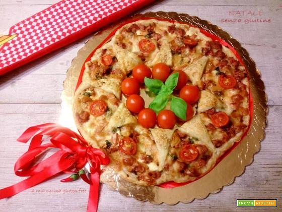 Ghirlanda natalizia senza glutine