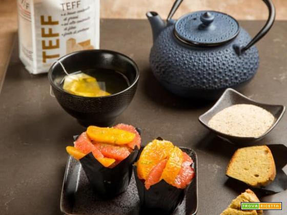 Muffin agli agrumi con pompelmo, lime e arance: bontà senza glutine che fa bene al corpo e allo spirito