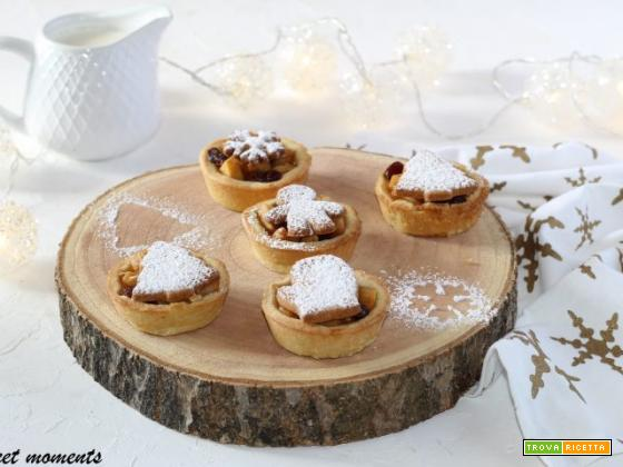 Mini apple pie natalizie