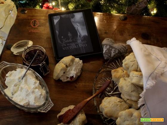 MANGIA CIO` CHE LEGGI 142: scones spezziati ispirati da un matrimonio Vittoriano di Estelle Hunt