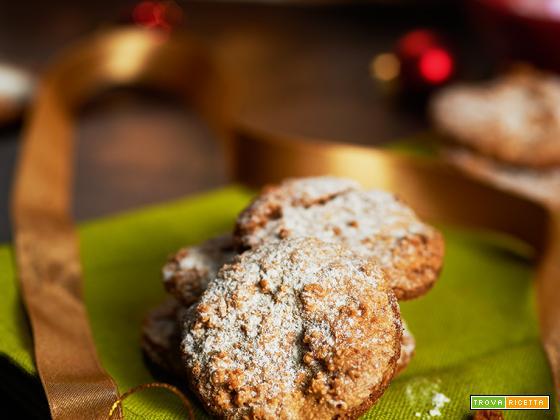 calendario dell'avvento biscotti di mandorle e riso