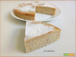 Torta Cheesecake Fit e Light Yogurt e Cocco