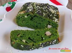 Plumcake spinaci speck e gorgonzola