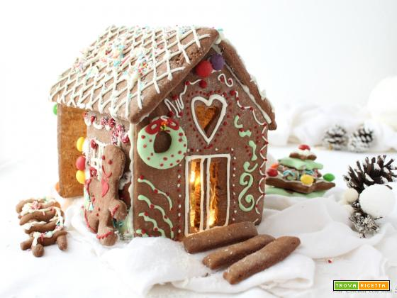 Gingerbread house – casetta di pan di zenzero