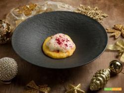 Polenta morbida con uovo, fonduta e tartufo