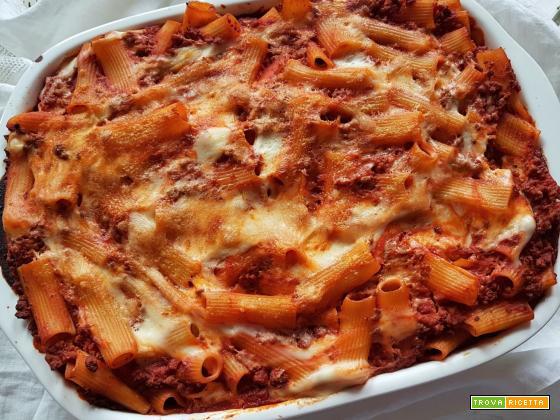 Con e Senza Bimby, Pasta al Forno al Ragù, Besciamella e Formaggio